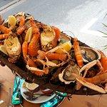 Le plateau de fruits de mer