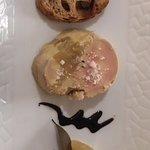 foie gras de canard mi-cuit à la feuille de cannelier