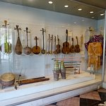 Musical instrument display from the Old Opera