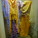 They have a series of wedding outfits from several different regions of the country.