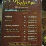 Ảnh về Vela Spa