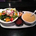 Lunch Combo - Chicken & Strawberry Salad and Shrimp & Lobster Chowder