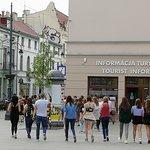 Main entrance to Lodz Tourist Information