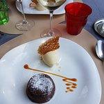 Menu affaire - dessert (très bonne glace au poivre Sichuan)
