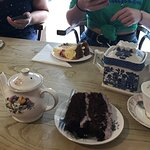 Fantastic tea and cake!!