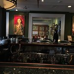 The art is good at 45 Bistro