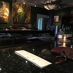The bar at 45 Bistro