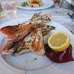 Mixed fish grill: superb and abundant