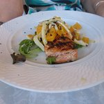Salmon with fennel and oranges: delicious