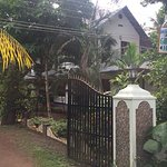 View from front of homestay