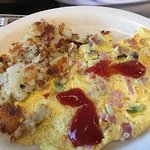 Omelet at Hightstown Diner