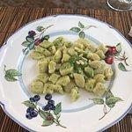 Potato Gnocchi with homemade pesto