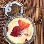 Strawberry Tiramisu made with Vin Santo
