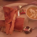 Cuban Sandwich and Creme of Calabasa Soup