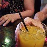Irish Breakfast Cocktail (Irish Whiskey, Butterscotch Schnapps and OJ)