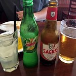 The pineapple Sumol and Sagres beer