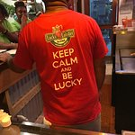 The slogan for the Lucky Lobster