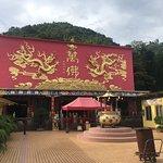 Peaceful temple of 10'000 Buddha statues