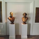 Busts Of FDR & Eleanor