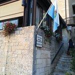 L'ingresso dalla città bassa