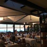 Una veduta della panoramica sala del ristorante.