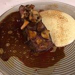 Slow cooked Angus beef rib