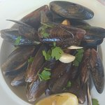 Steammed mussels