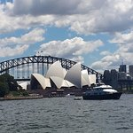 Sydney bridge and Opera house view