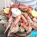 Gran piatto di frutti di mare per 2 persone
