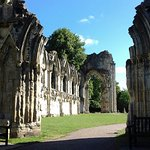 Stunning remains of what was a big abbey.