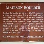 Bilde fra Madison Boulder