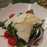 Ruccolasalat sehr fein