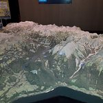 An awesome model of the NP Berchtesgaden with all the chalets, trails and attractions marked up