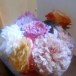 Visite en 2cv - Bouquet orangé