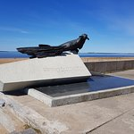 Monument To the Seal - the Savior of Citizens of Arkhangelsk and Leningrad Foto