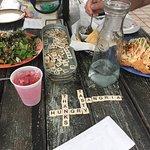 Chesapeake Nachos, fun at outside table