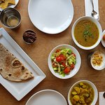 Daal and Sabji changes every day