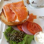The bagel & lox platter