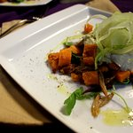 Sweet Potato Duck Confit Salad