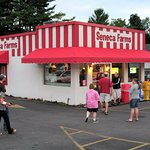 Seneca Farms Ice Cream in Penn Yan, NY