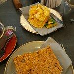 Cheese scone and Cumbrian Dream Cake