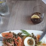 Smoked Salmon & Capers starter