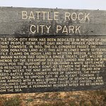Battle rock park history