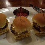 Kobe Beef Mini Burgers with Added Cheese