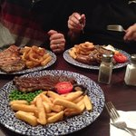 Our meals from the three tuns