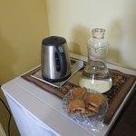 Fridge and tea making area