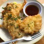 Fried pinneapple