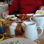 Delicious Irish Breakfast at Les PetitesTartres, Athleague, Republic of Ireland