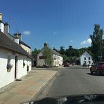 Strathmore Arms on quiet street in Glamis