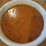 Tomato Basal soup was GREAT